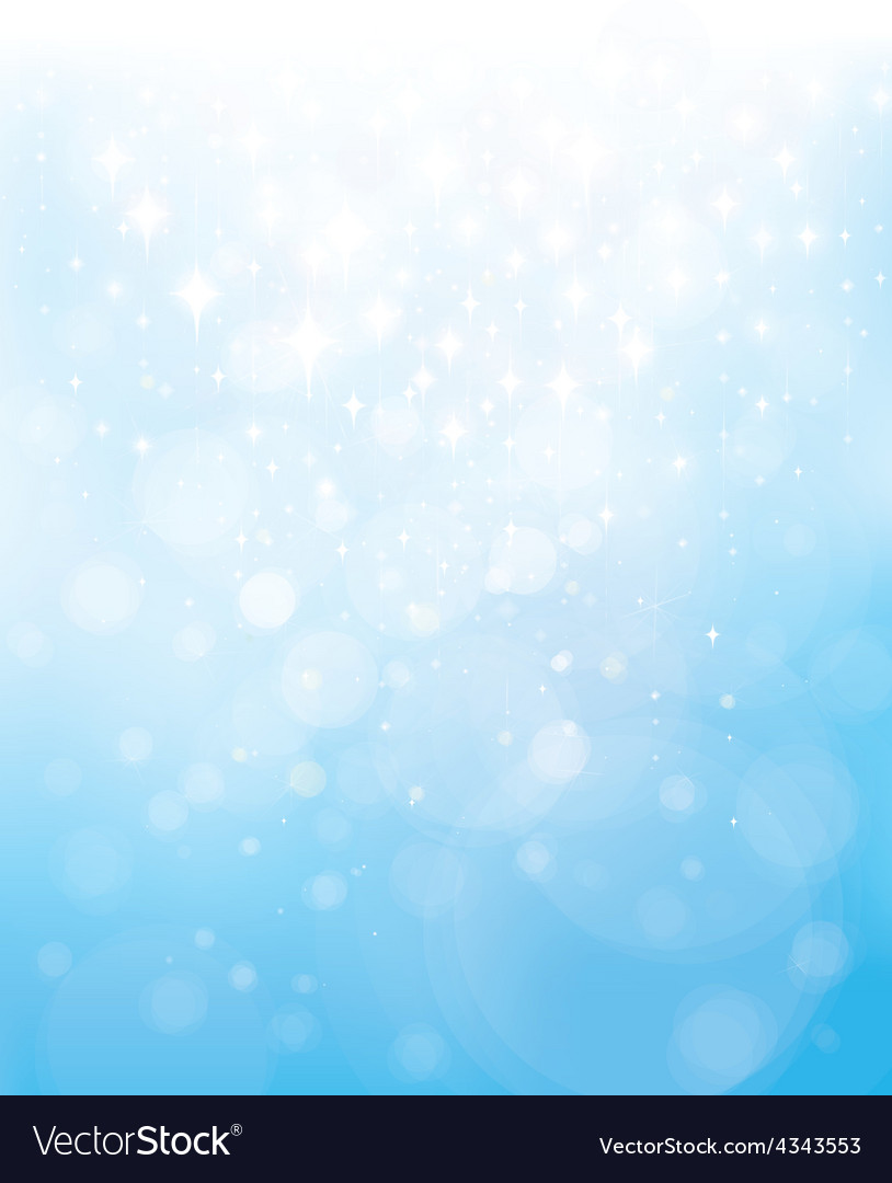 Blue star background vector | Price: 1 Credit (USD $1)