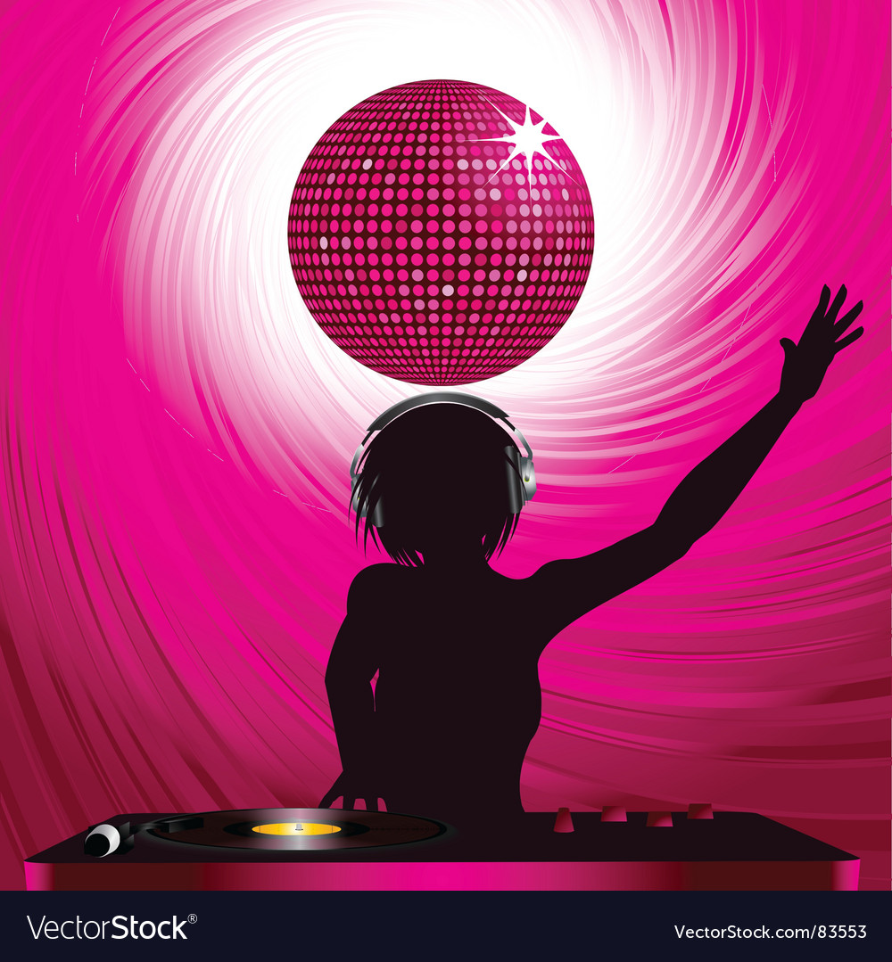 Disco dj vector | Price: 1 Credit (USD $1)