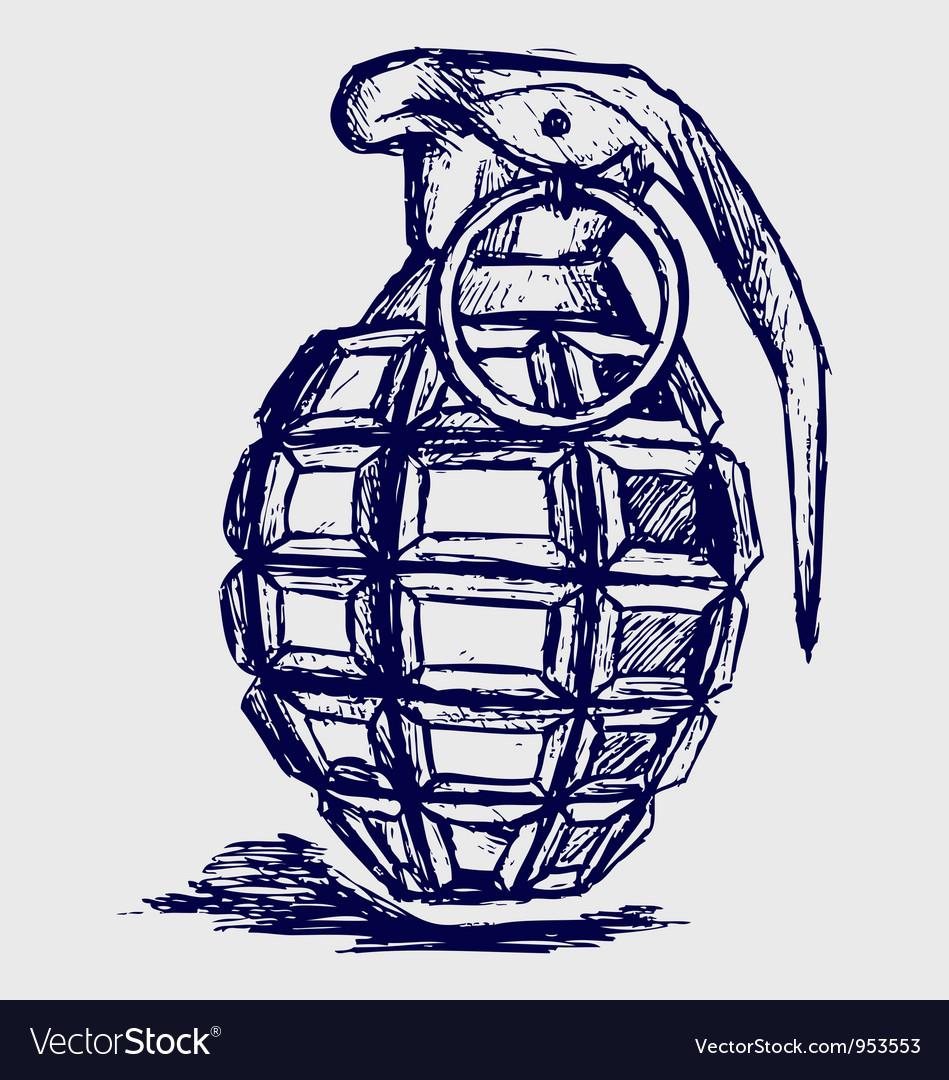 Grenade vector   Price: 1 Credit (USD $1)
