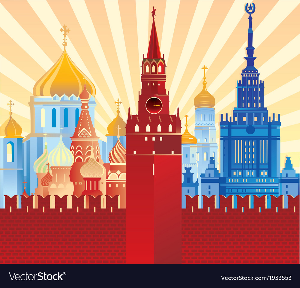Image of moscow vector | Price: 3 Credit (USD $3)