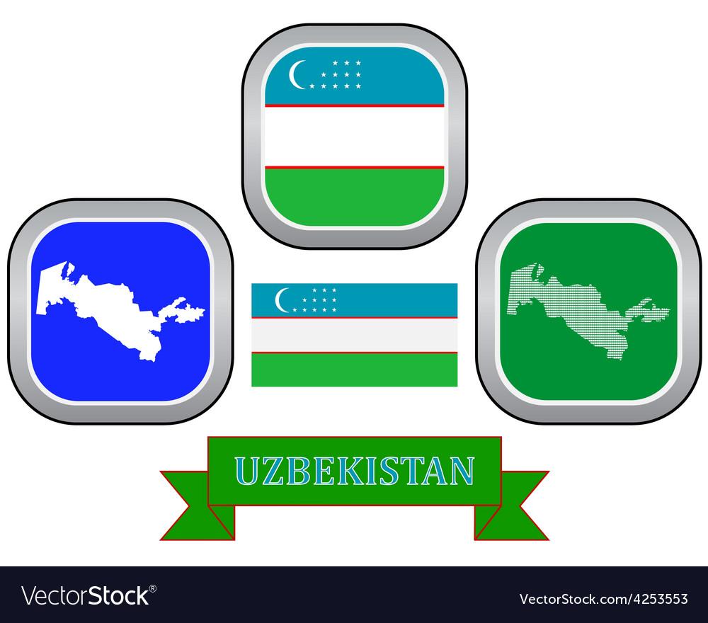 Symbol of uzbekistan vector | Price: 1 Credit (USD $1)