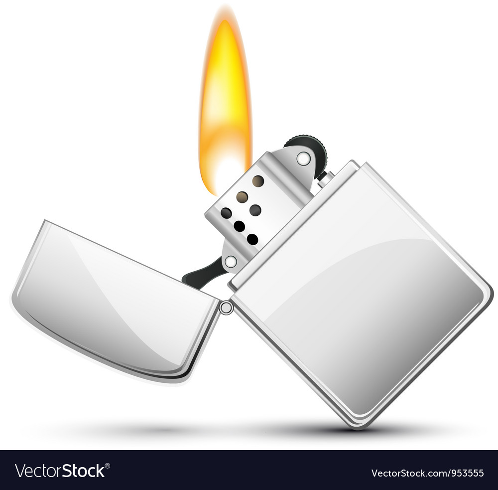 American zippo cigarette lighter vector | Price: 3 Credit (USD $3)