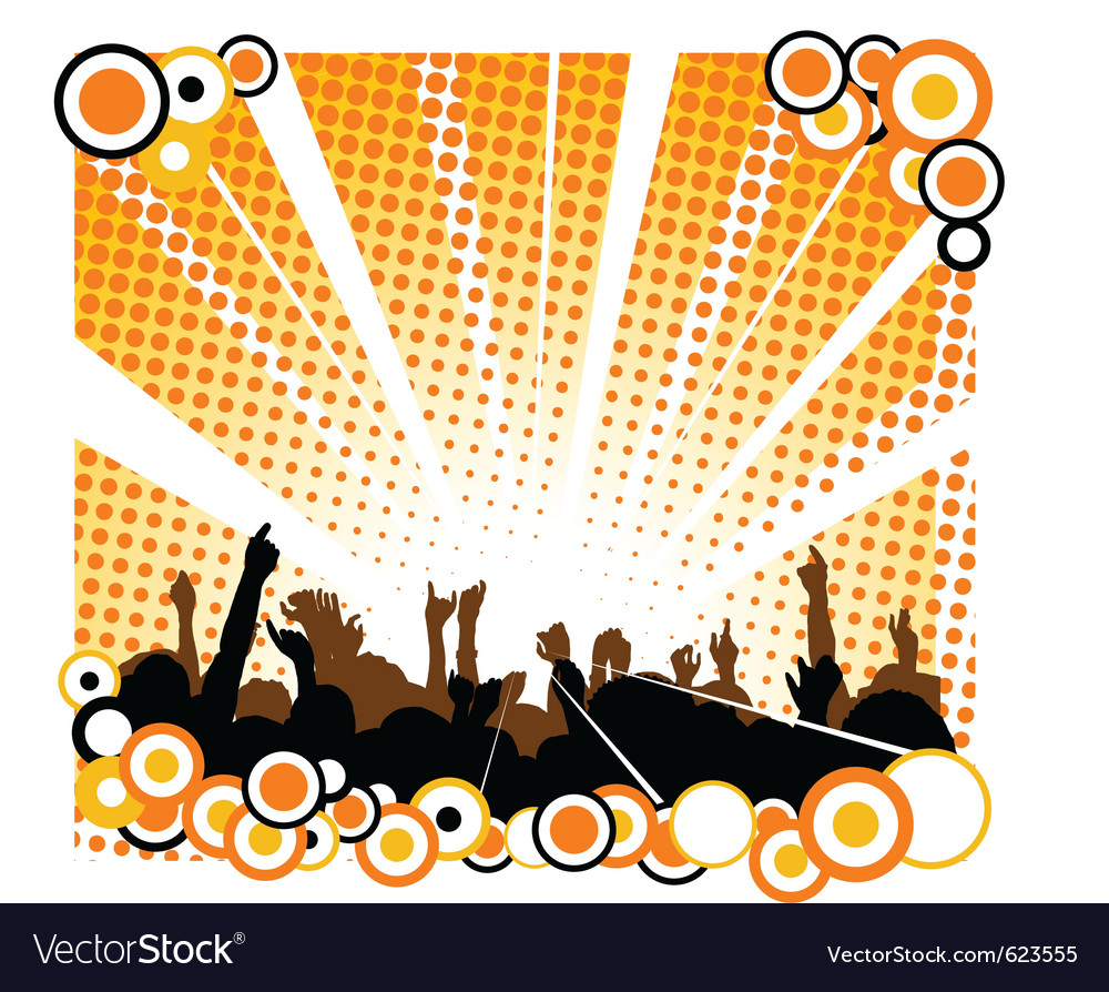 Concert poster vector | Price: 1 Credit (USD $1)