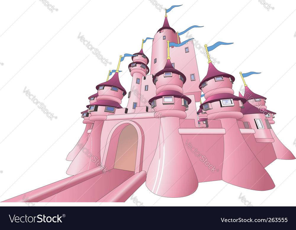 Fairy castle vector | Price: 1 Credit (USD $1)