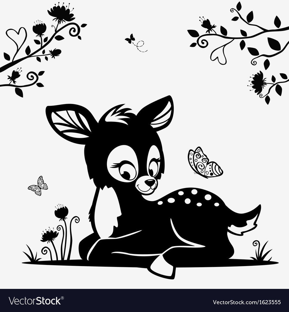 Fawn vector | Price: 1 Credit (USD $1)