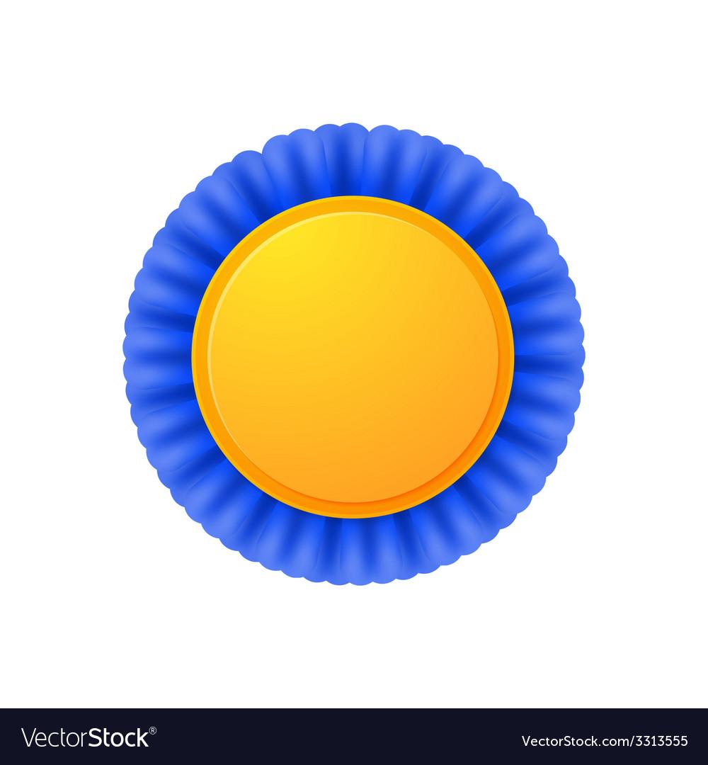 Golden medal vector | Price: 1 Credit (USD $1)