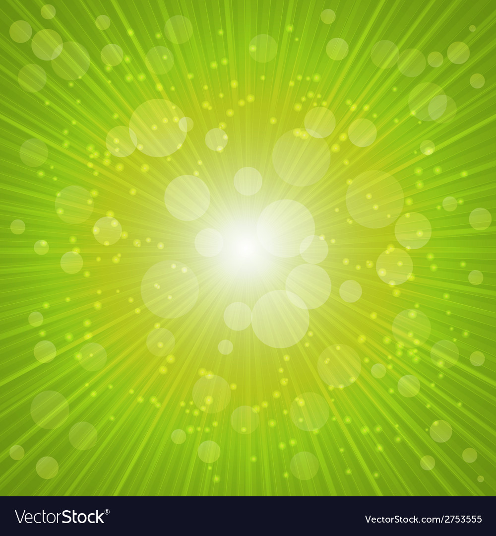 Green summer background vector | Price: 1 Credit (USD $1)