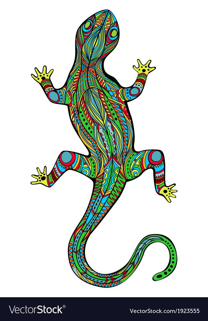 Magic lizard vector | Price: 1 Credit (USD $1)