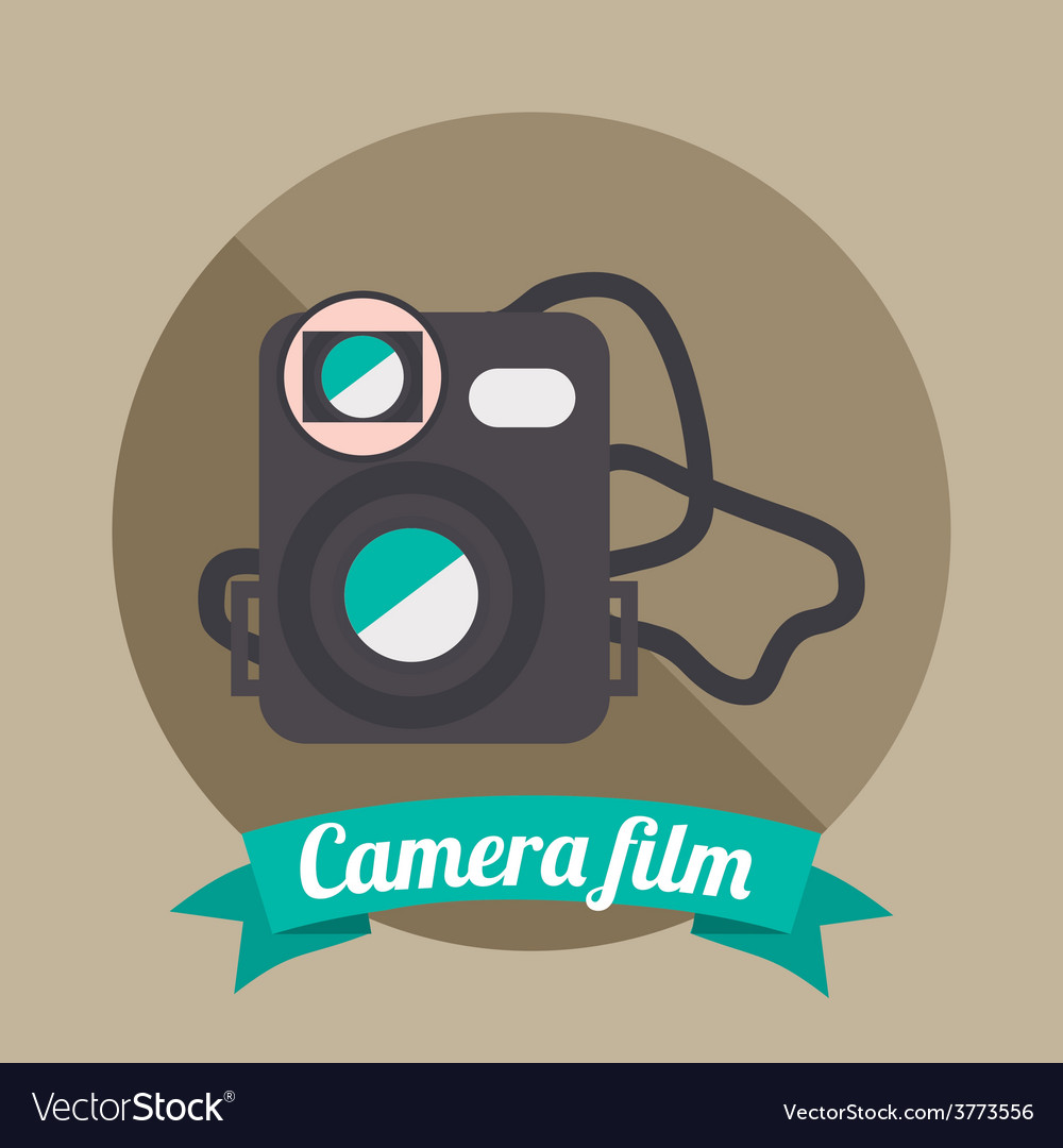 Camera film vector | Price: 1 Credit (USD $1)