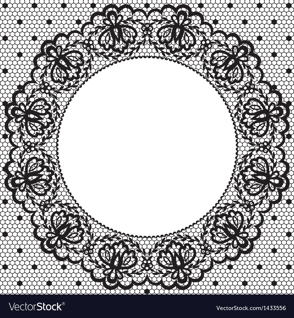 Lace and napkin vector | Price: 1 Credit (USD $1)