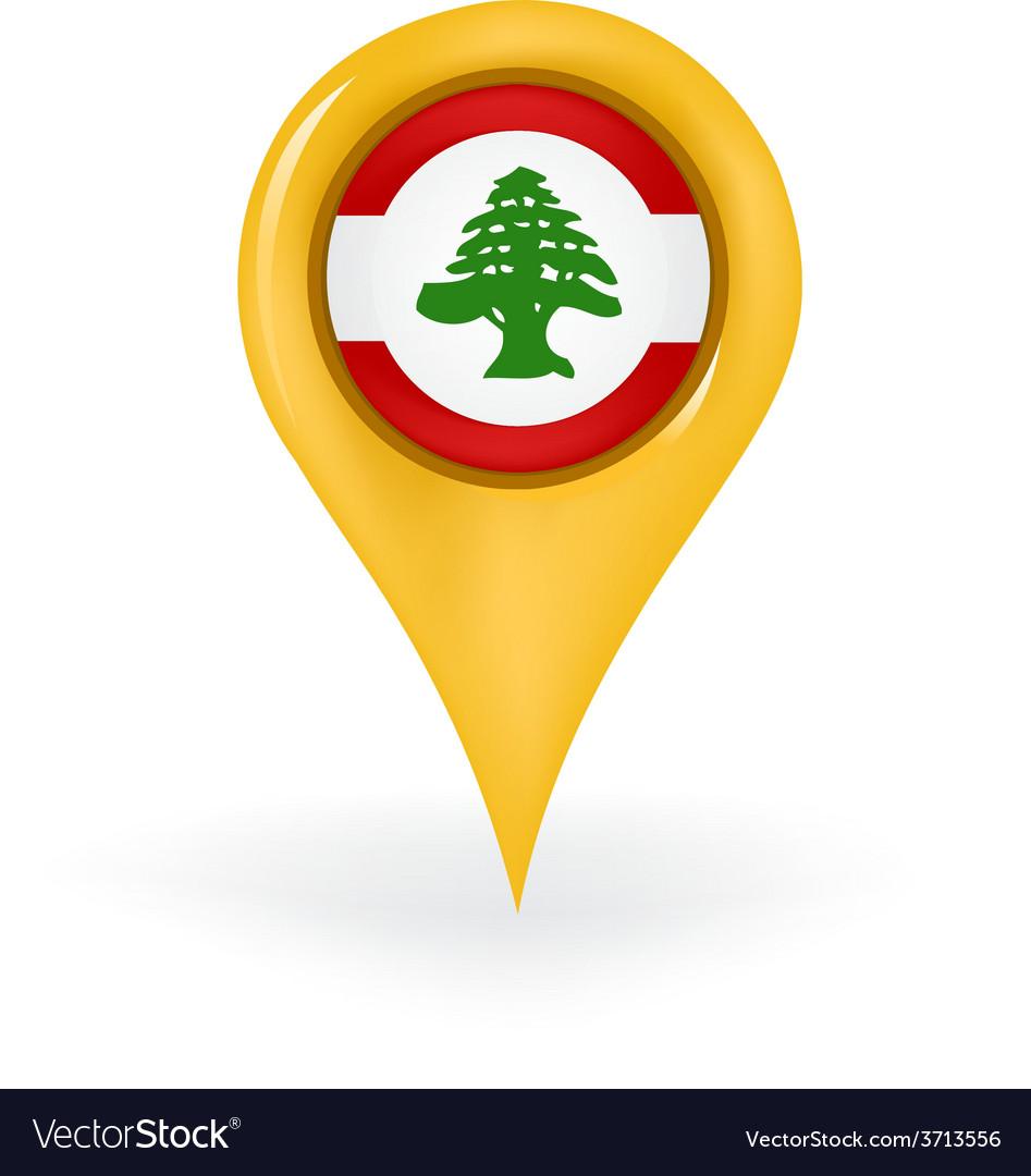 Location lebanon vector | Price: 1 Credit (USD $1)