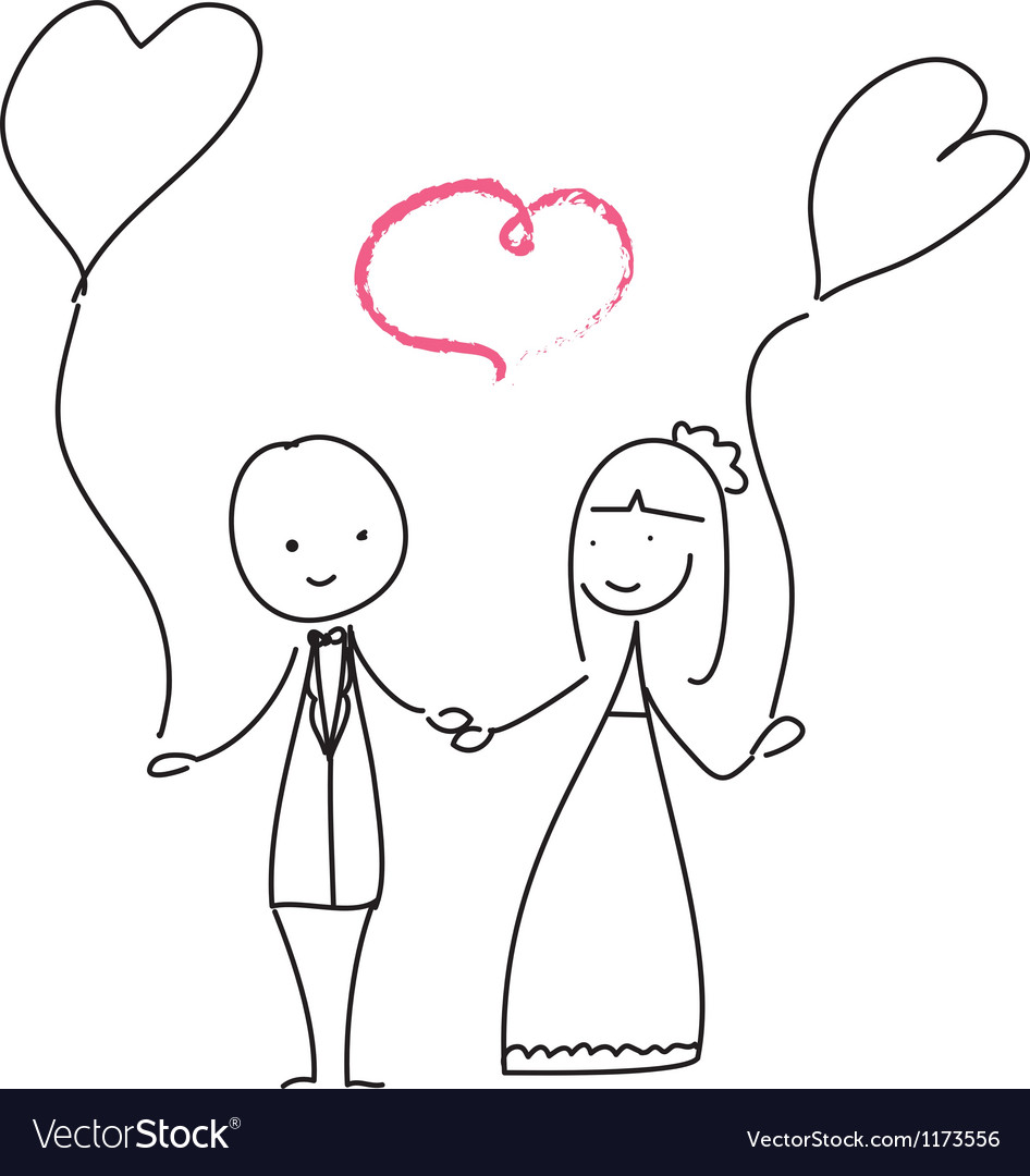 Wedding love vector | Price: 1 Credit (USD $1)