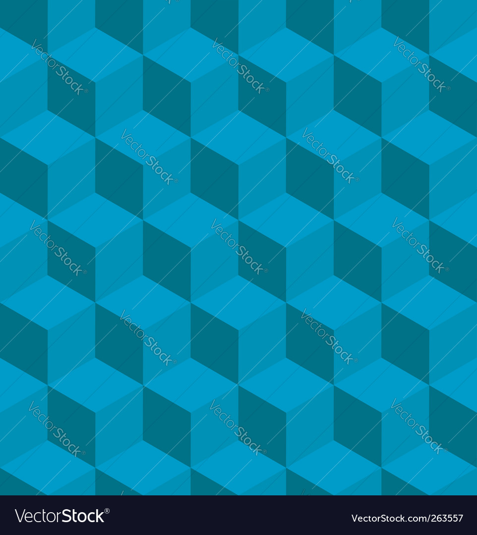 Isometric cube pattern vector | Price: 1 Credit (USD $1)