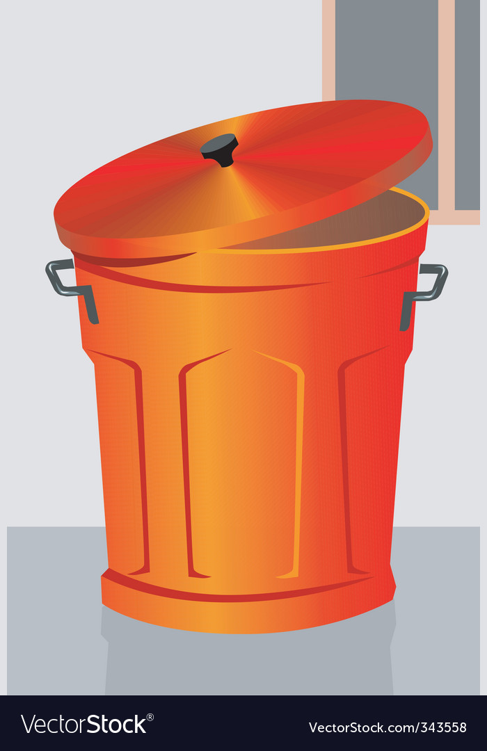 Dustbin vector | Price: 1 Credit (USD $1)