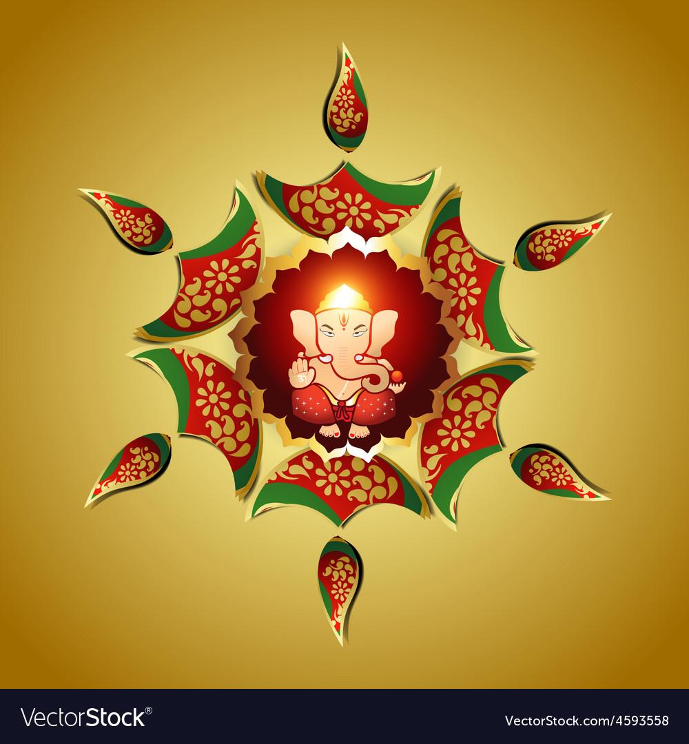 God ganesha vector | Price: 1 Credit (USD $1)