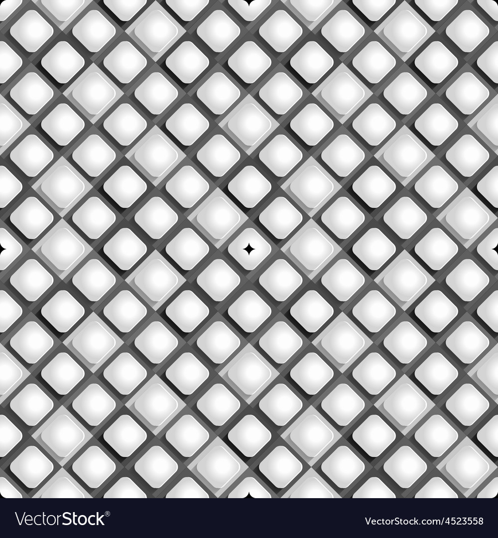 Seamless pattern from paper rhombus on a black and vector | Price: 1 Credit (USD $1)