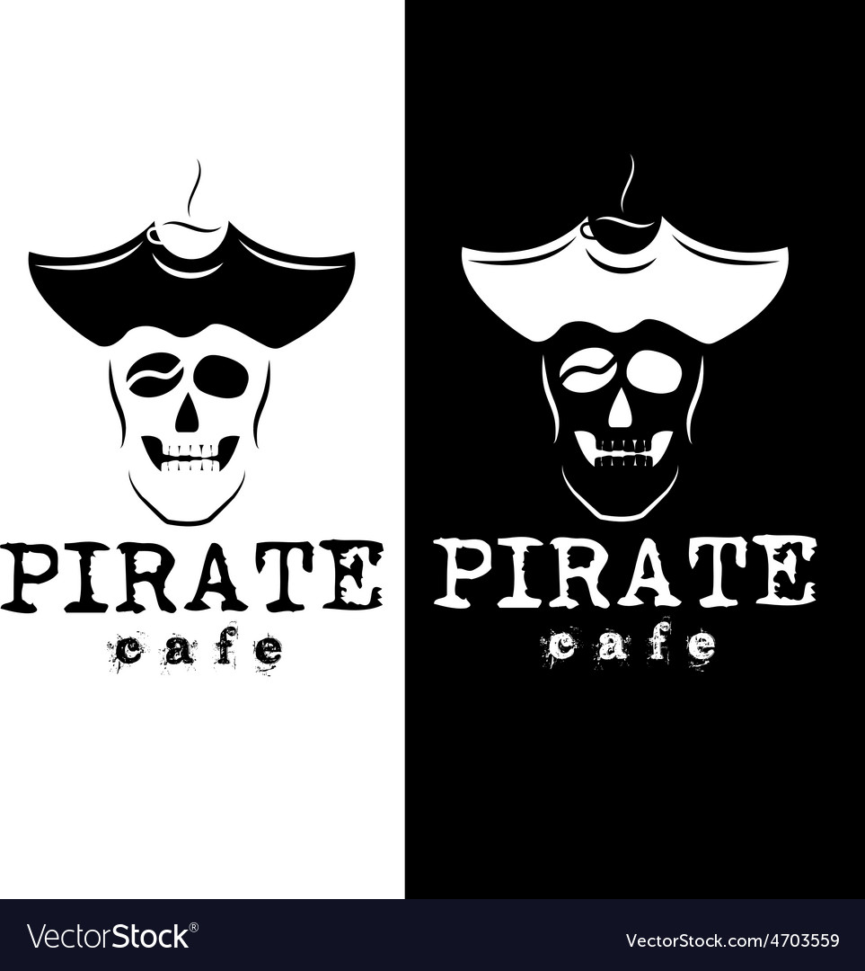 Pirate cafe vector | Price: 1 Credit (USD $1)