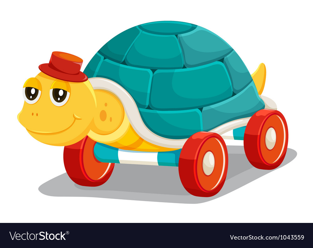 Toy tortoise vector | Price: 1 Credit (USD $1)
