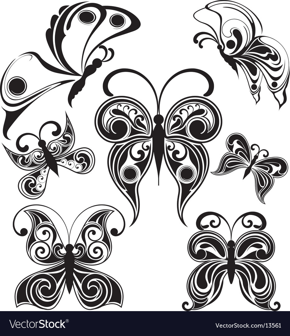 Butterflies design vector | Price: 1 Credit (USD $1)