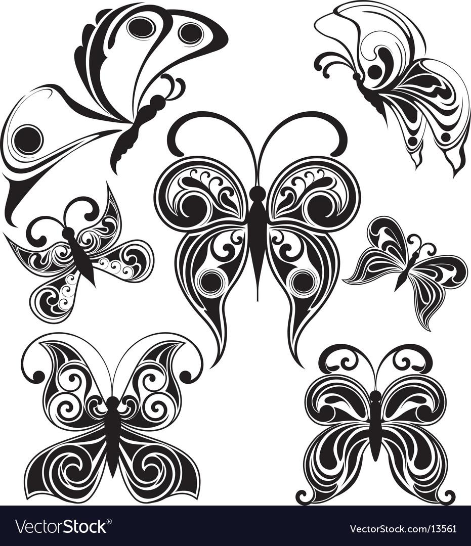 Butterflies design vector | Price: 1 Credit (USD $1)