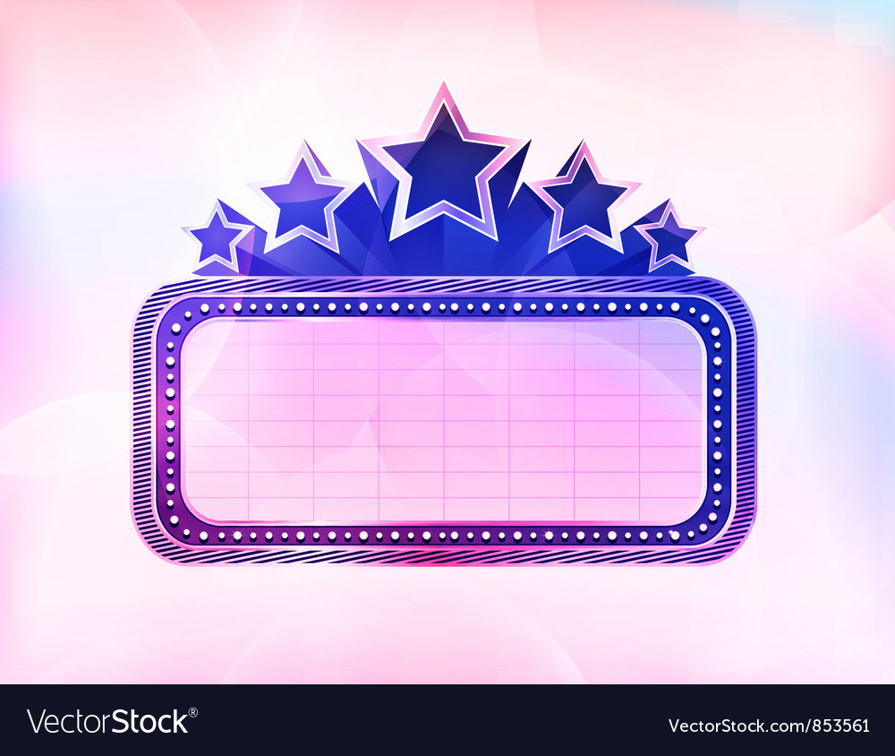 Colorful neon sign vector | Price: 1 Credit (USD $1)