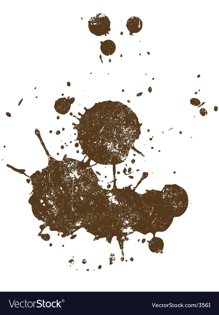Grunge splat vector | Price: 1 Credit (USD $1)