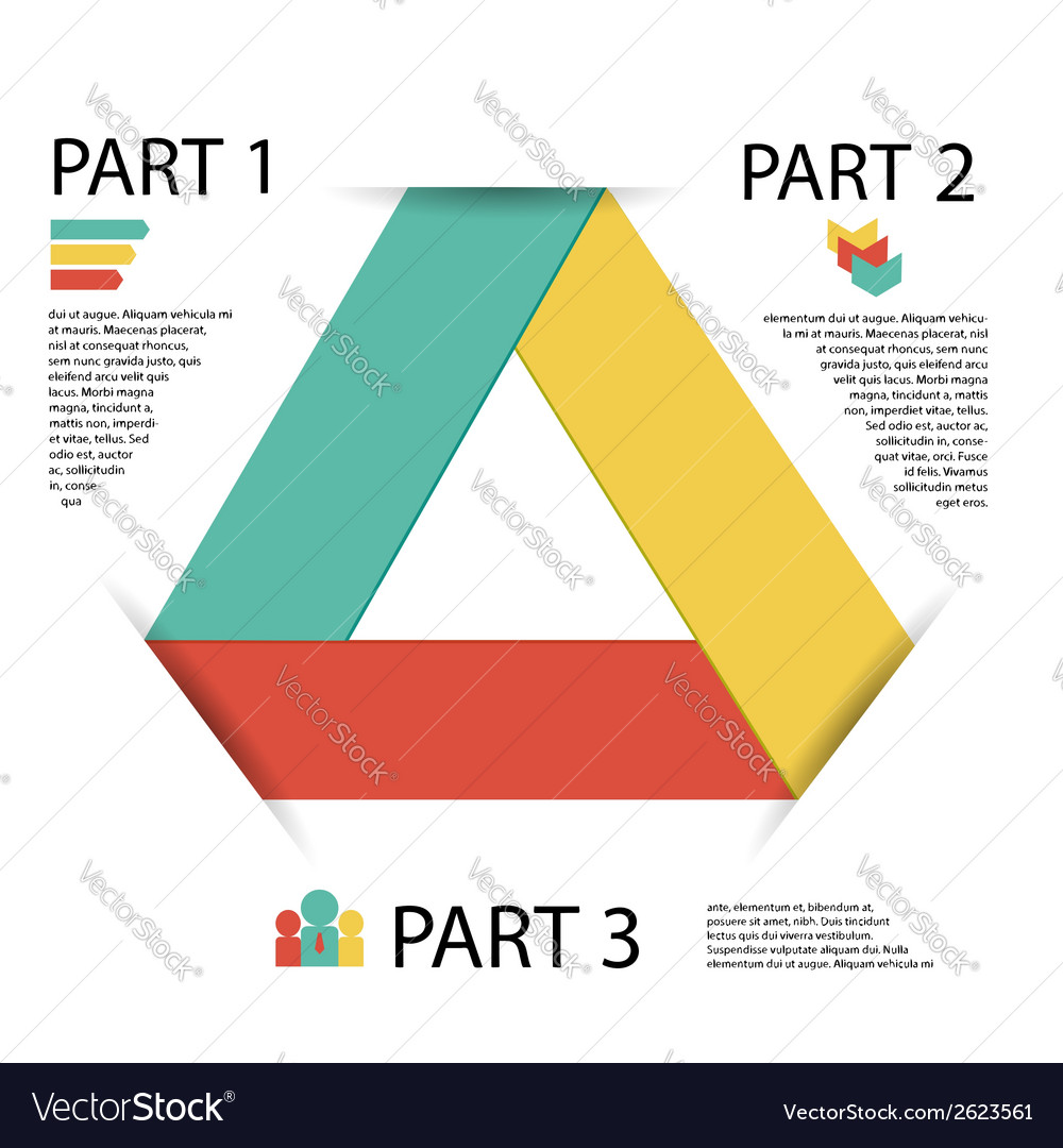 Modern info graphic element for business vector | Price: 1 Credit (USD $1)