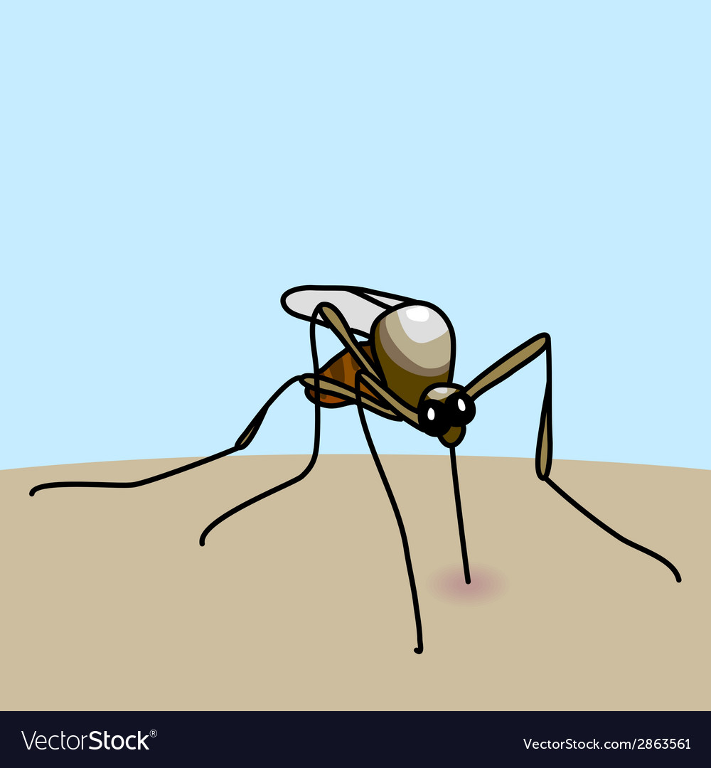 Mosquito bite vector | Price: 1 Credit (USD $1)