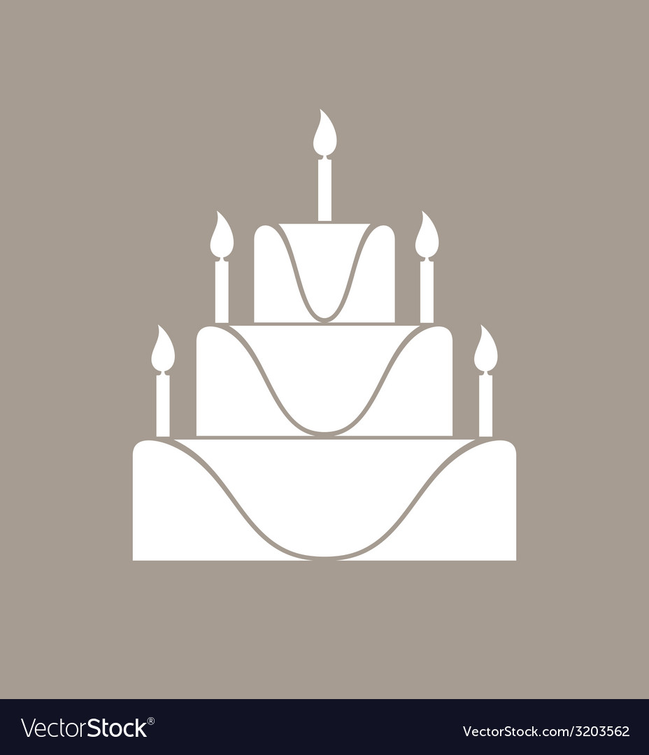 Cake vector | Price: 1 Credit (USD $1)
