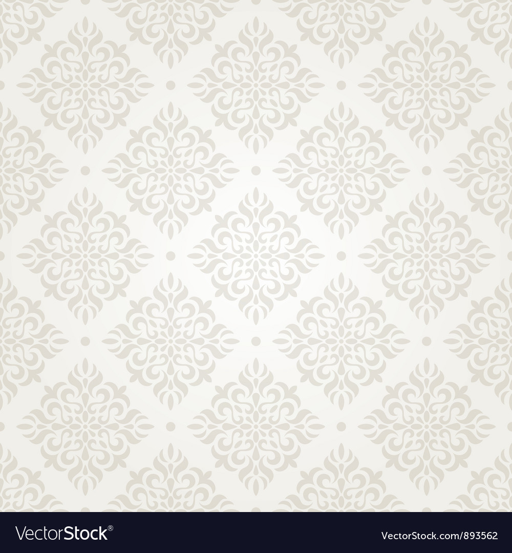 Silver vintage wallpaper vector | Price: 1 Credit (USD $1)