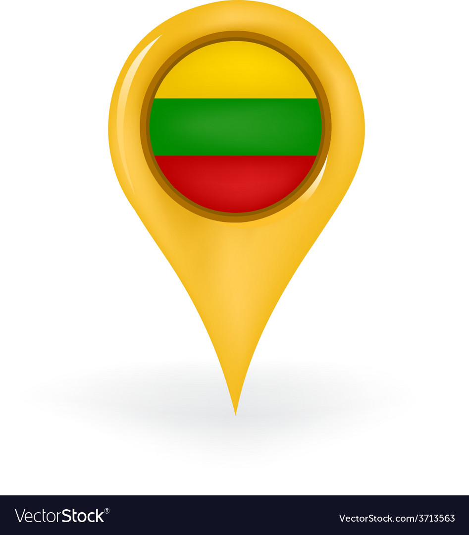 Location lithuania vector | Price: 1 Credit (USD $1)