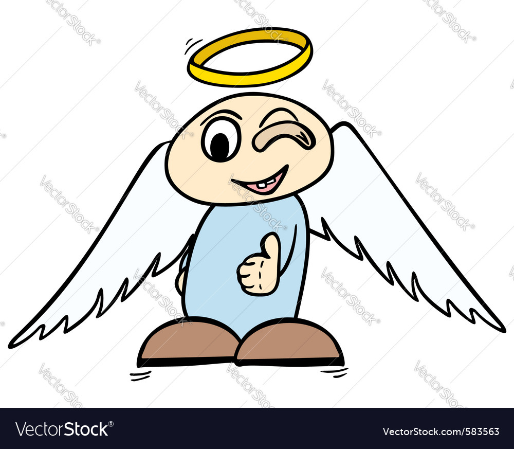 Ok angel vector | Price: 1 Credit (USD $1)