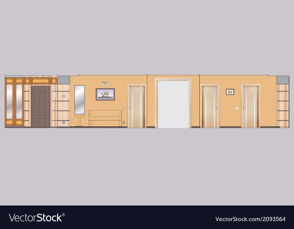 02 residential interior v vector | Price: 1 Credit (USD $1)