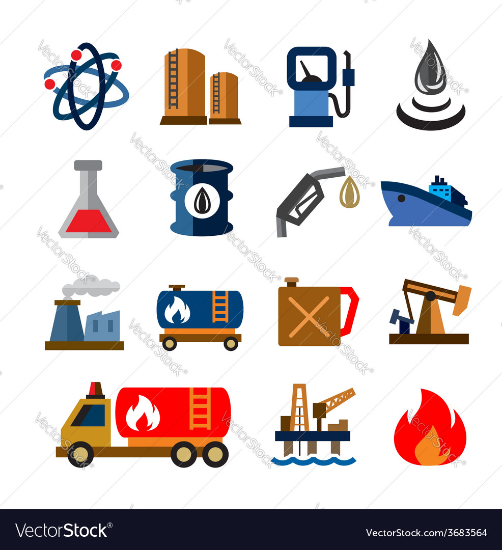 Oil and petrol vector | Price: 1 Credit (USD $1)