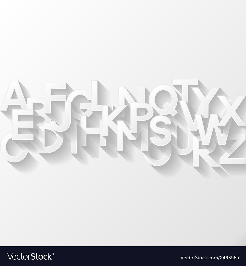 Abstract background with alphabet vector | Price: 1 Credit (USD $1)