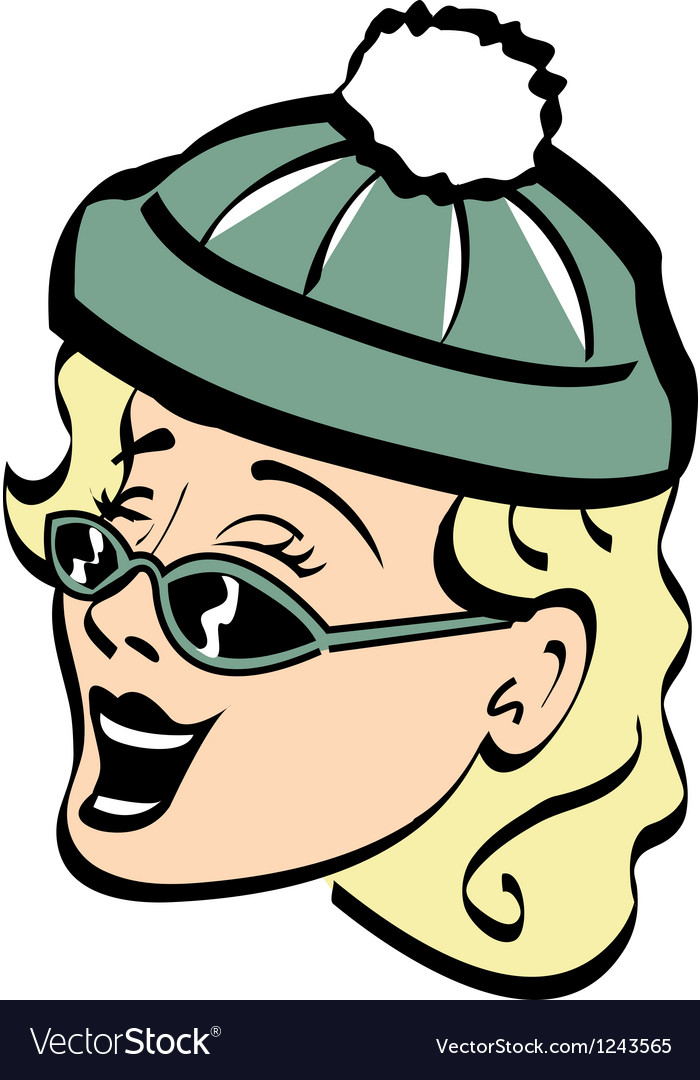 Advertising womans face vector | Price: 1 Credit (USD $1)