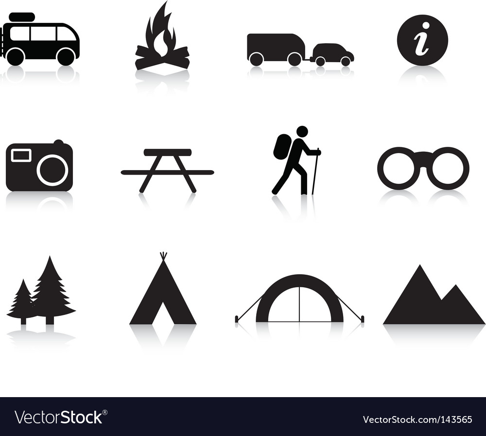 Camping logos vector | Price: 1 Credit (USD $1)