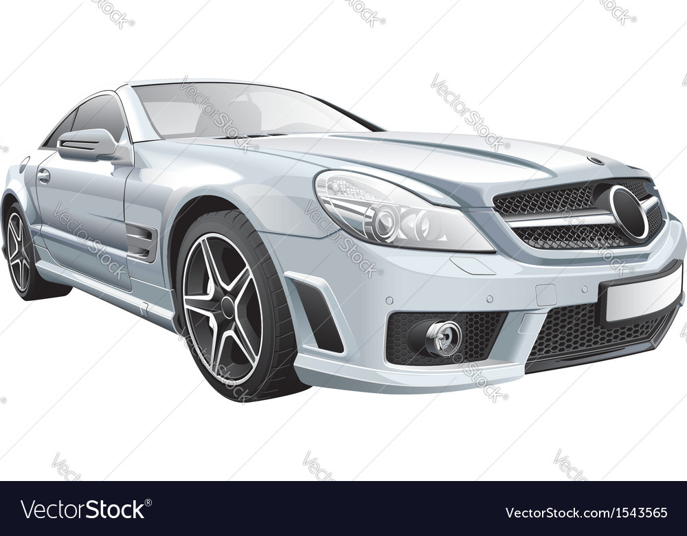 European luxury roadster vector | Price: 5 Credit (USD $5)