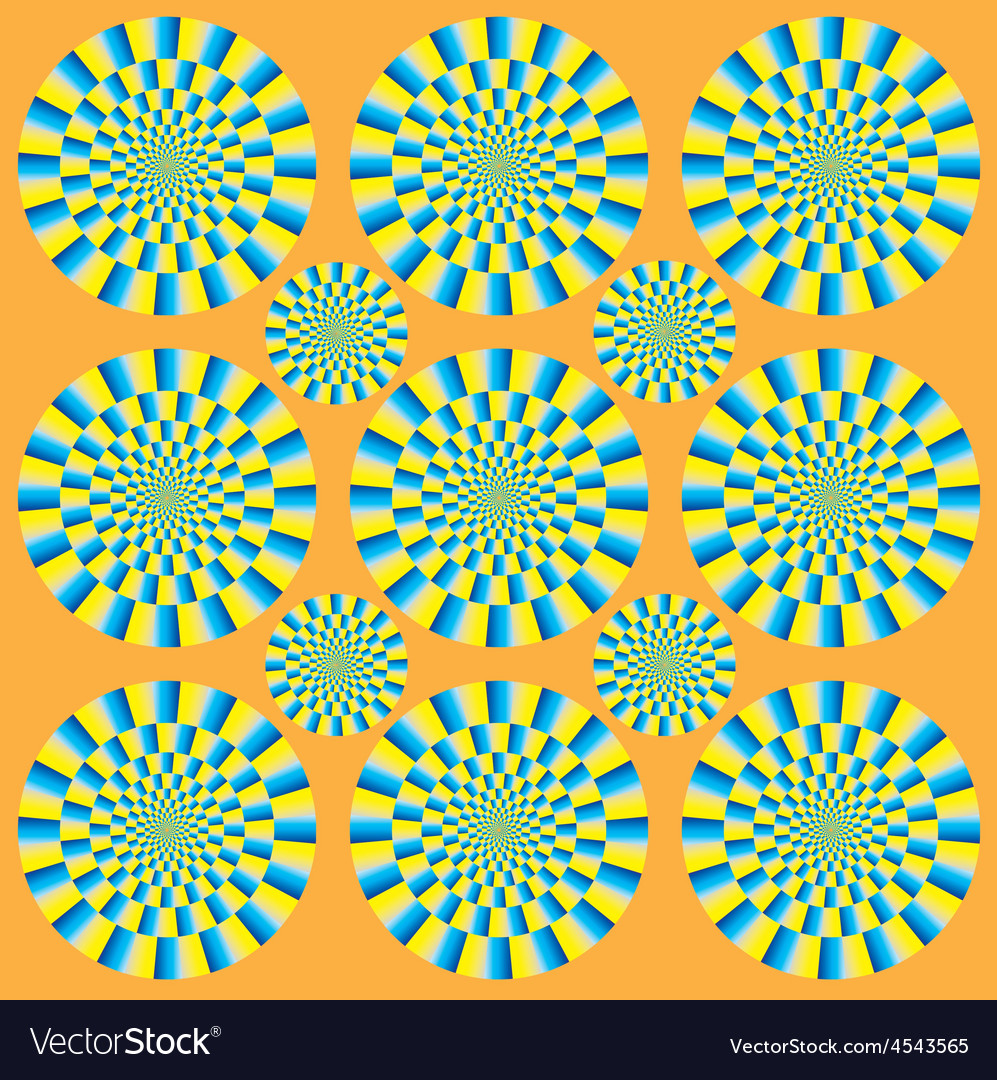 Hypnotic show of rotation vector | Price: 1 Credit (USD $1)