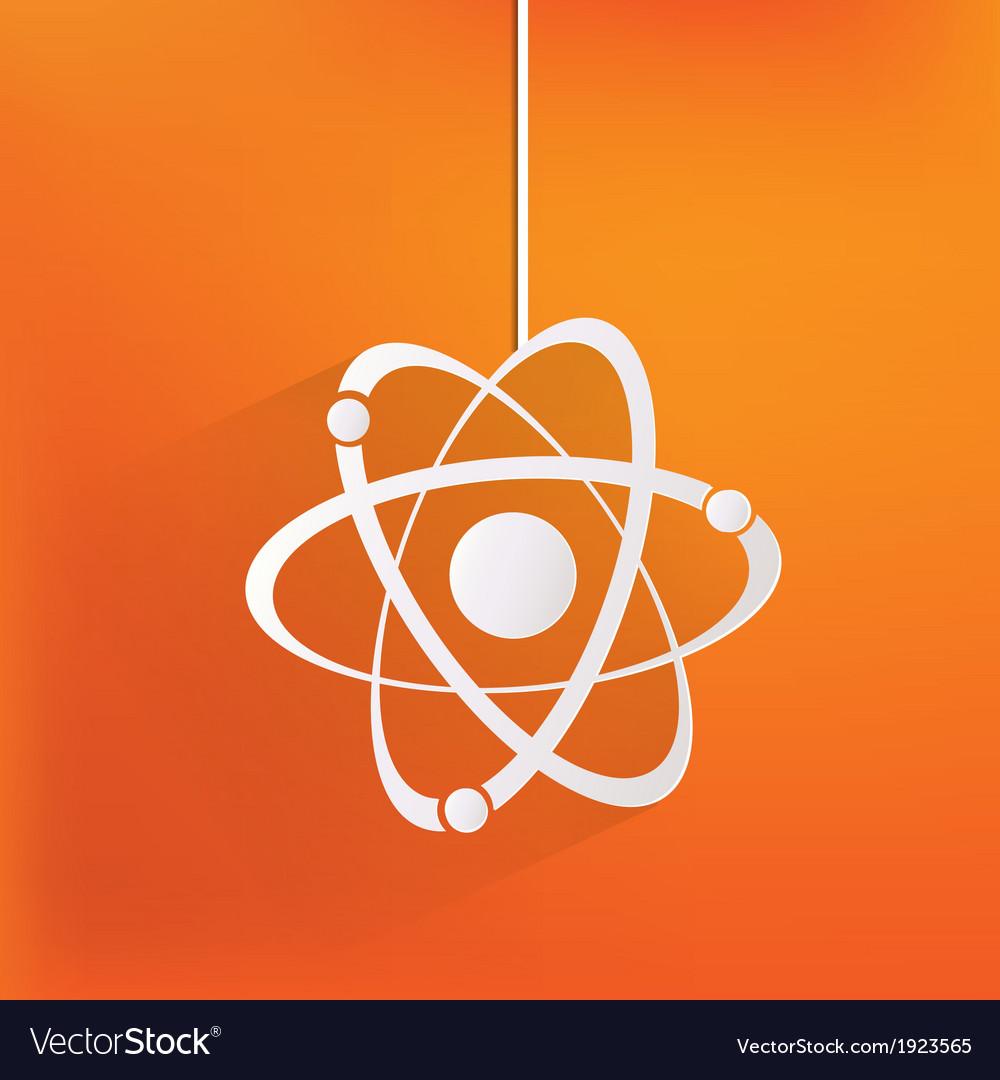 Molecule atom icon vector | Price: 1 Credit (USD $1)