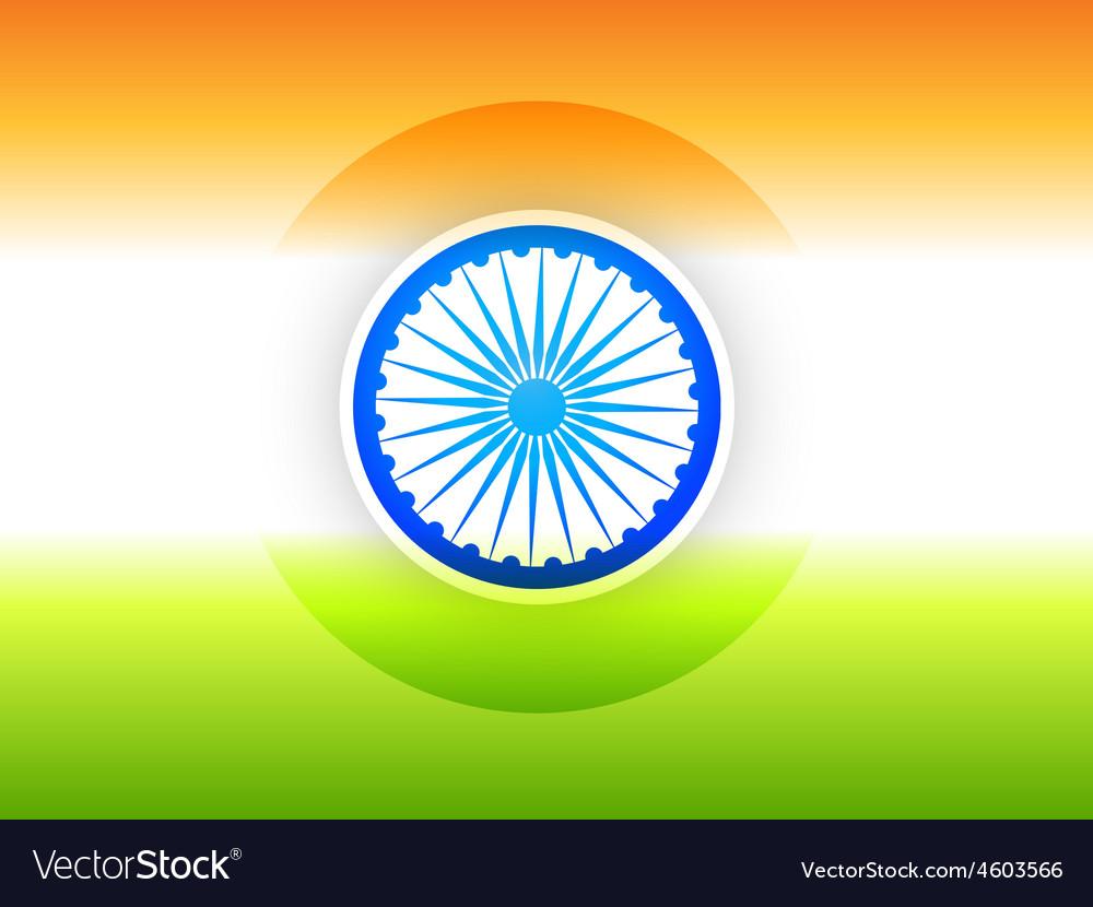 Indian flag design vector | Price: 3 Credit (USD $3)