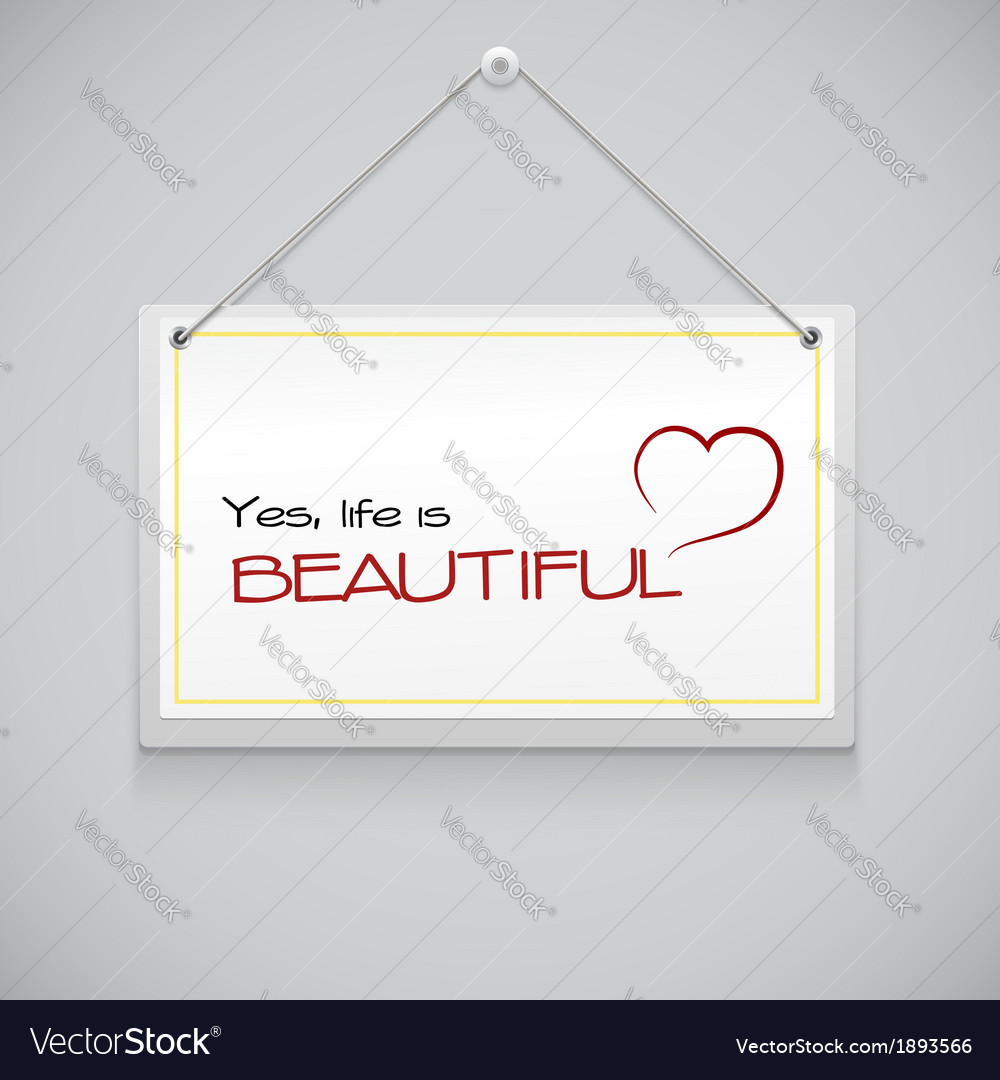 Realistic hanging advertisement canvas vector | Price: 1 Credit (USD $1)