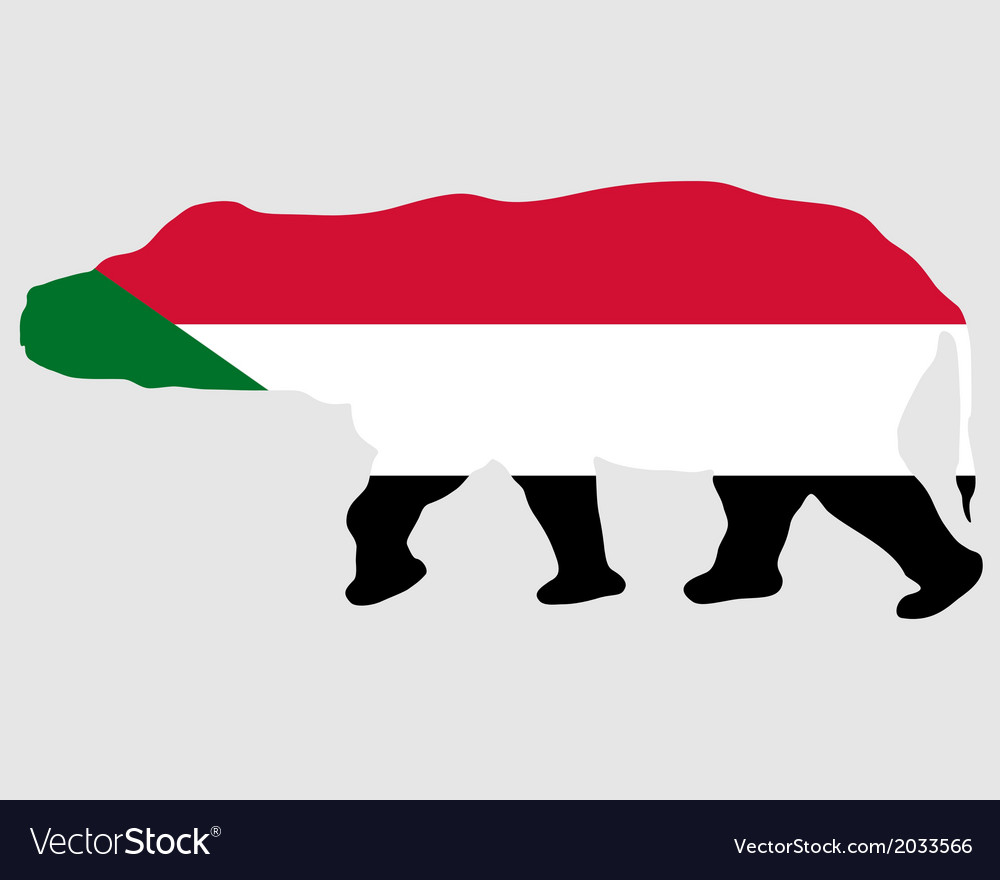 Sudan hippo vector | Price: 1 Credit (USD $1)