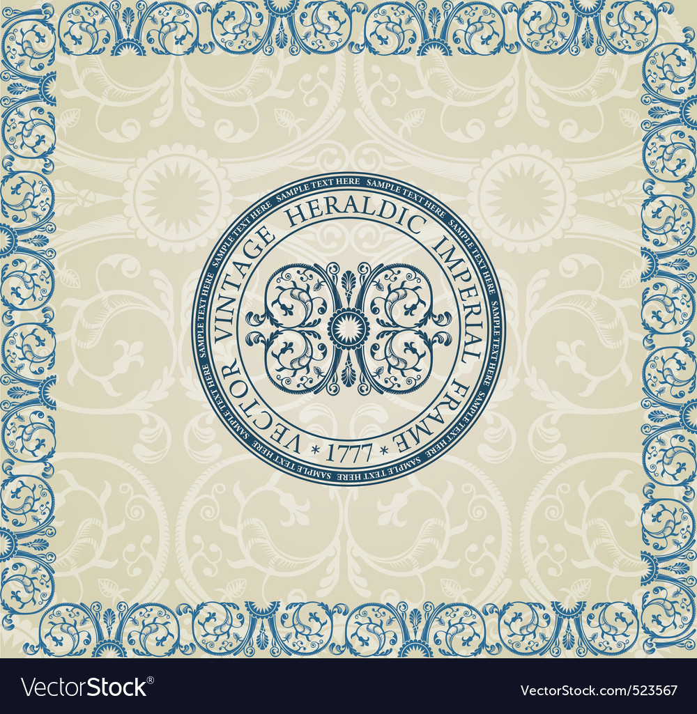 Imperial background vector | Price: 1 Credit (USD $1)