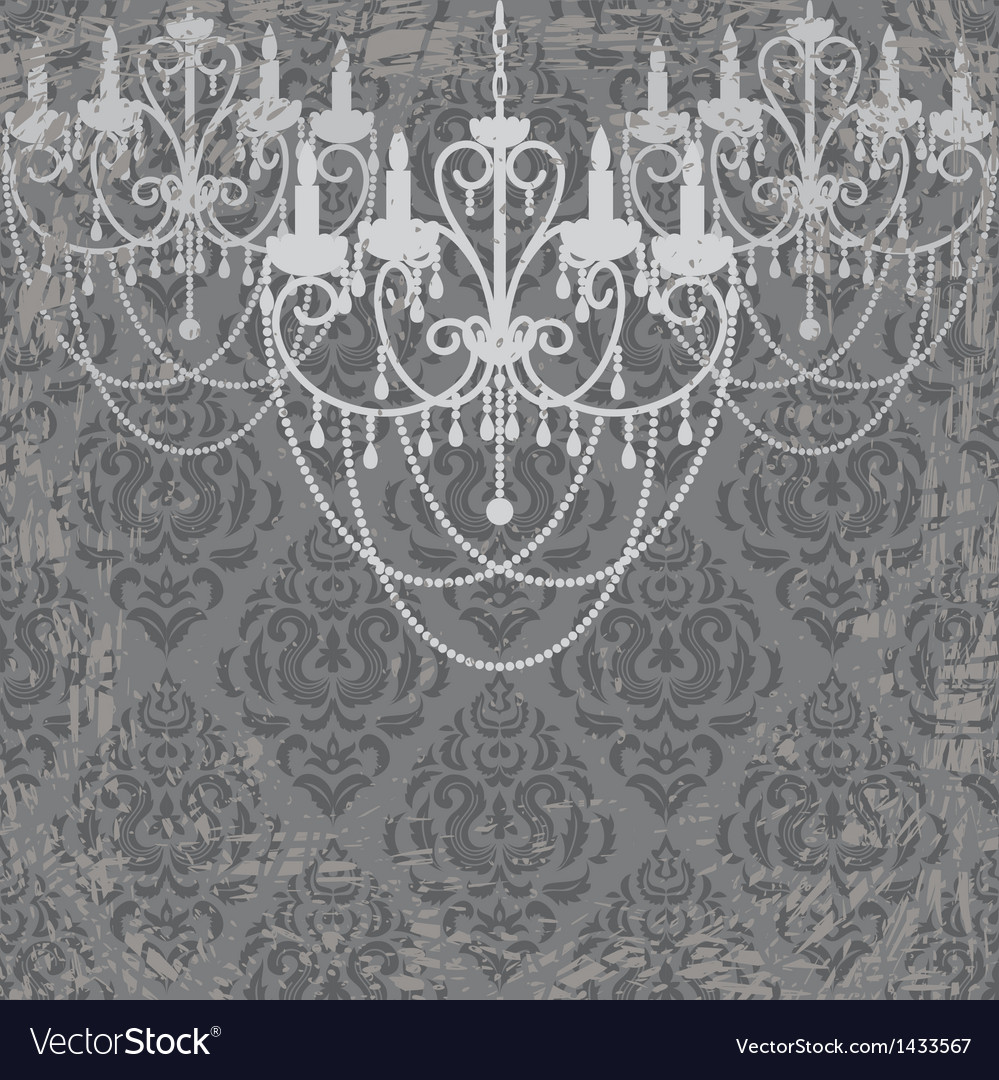 Vintage chandeliers vector | Price: 1 Credit (USD $1)