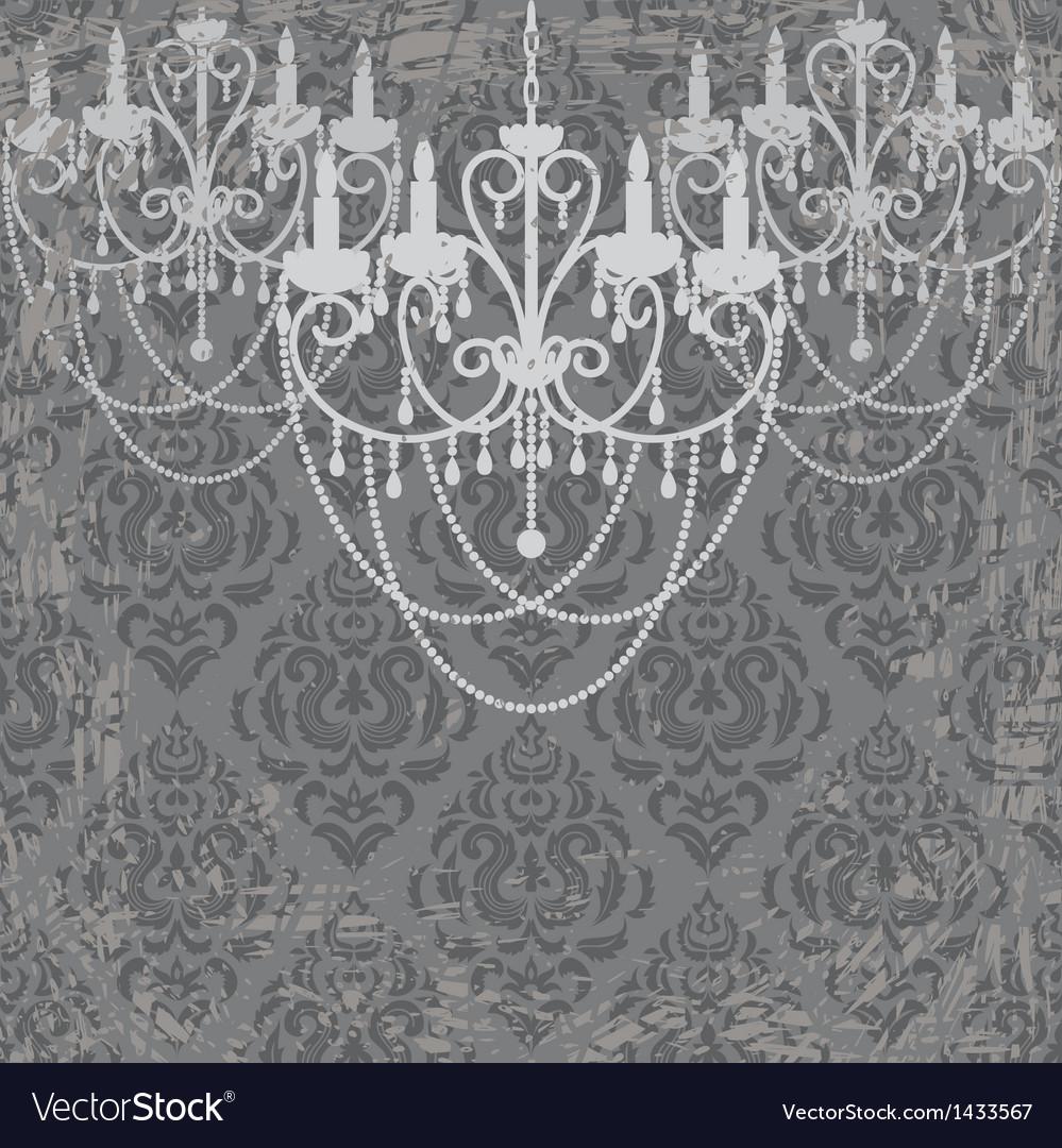 Vintage chandeliers vector | Price: 1 Credit (USD $1)