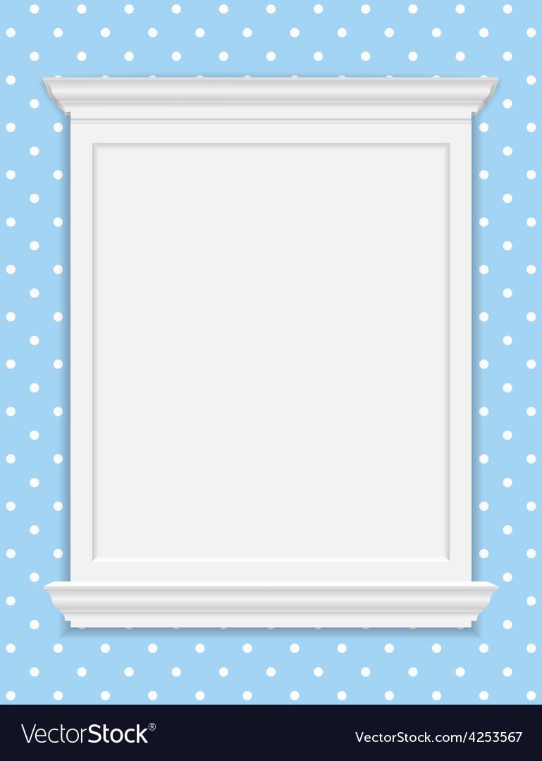 Vintage frame moldings vector | Price: 1 Credit (USD $1)