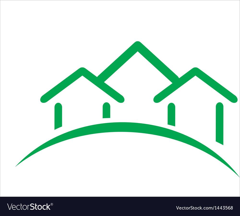 Real estate icon vector | Price: 1 Credit (USD $1)