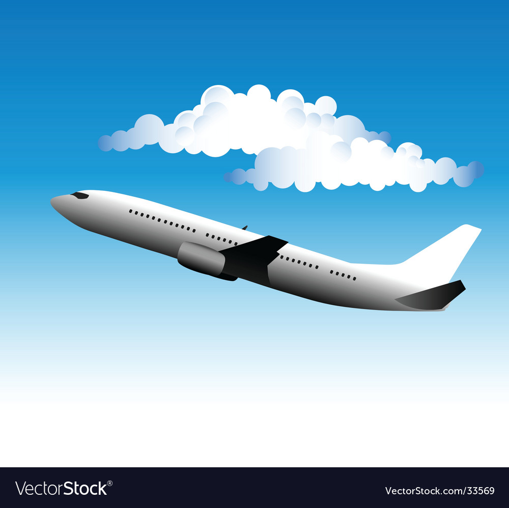 Airliner vector | Price: 1 Credit (USD $1)