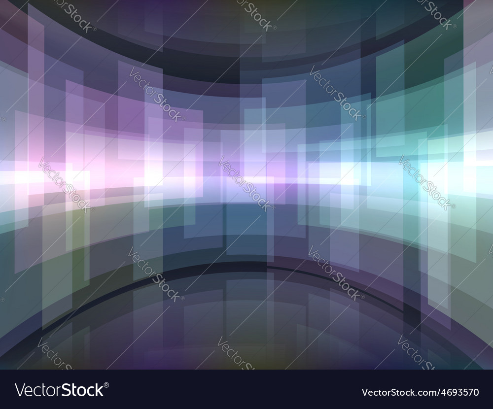 Abstract background with curved rectangulars vector | Price: 1 Credit (USD $1)